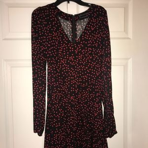 NWT black & red dot dress Urban Outfitters